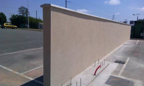 Domus Construction Mur de Clôture